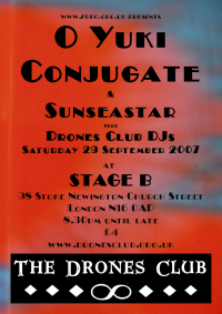 Drones Club XV flyer